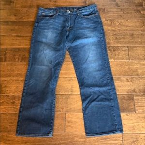 Lucky Brand Vintage Straight Jeans, 36 R EUC